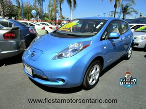 2011 Nissan LEAF SV Carfax 1-Owner - No Accidents  Damage Reported to CARFAX Adjustable Steering