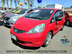 2010 Honda Fit  Carfax 1-Owner - No Accidents  Damage Reported to CARFAX 10 Cup Holders Adjus