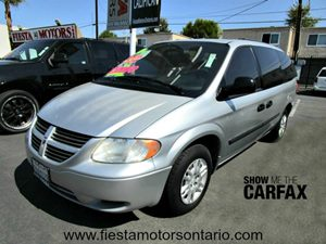2005 Dodge Caravan SE Carfax Report - No Accidents  Damage Reported to CARFAX Audio  AmFm Ster