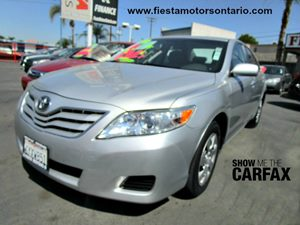 2010 Toyota Camry LE Carfax Report - No Accidents  Damage Reported to CARFAX Adjustable Front