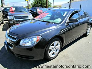 2011 Chevrolet Malibu LS w1LS Carfax Report - No Accidents  Damage Reported to CARFAX Lpo Rear