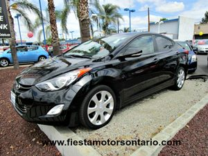 2012 Hyundai Elantra GLS Carfax Report - No Accidents  Damage Reported to CARFAX Two Tone Leathe