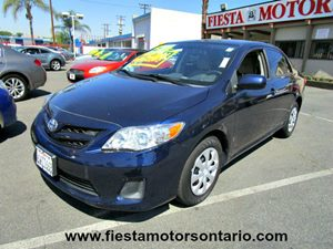 2012 Toyota Corolla L Carfax 1-Owner - No Accidents  Damage Reported to CARFAX 6040 Split-Foldi