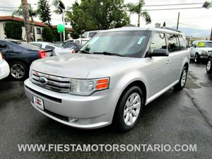 2009 Ford Flex SE Carfax 1-Owner 3Rd Row Seat Aluminum Wheels Auxiliary Audio Input Body-Color