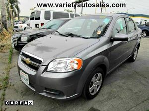 2010 Chevrolet Aveo LT w1LT Carfax Report - No Accidents  Damage Reported to CARFAX 4 Cylinders