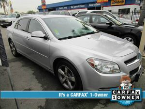 2009 Chevrolet Malibu LT w2LT Carfax 1-Owner - No Accidents  Damage Reported to CARFAX  Silve