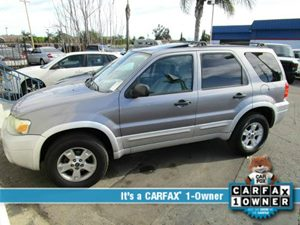 2007 Ford Escape XLT Carfax 1-Owner - No Accidents  Damage Reported to CARFAX  Silver Metallic