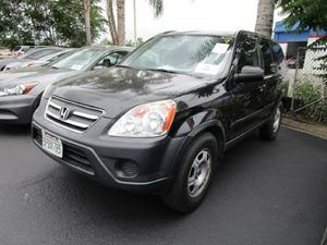 2005 Honda CR-V LX Carfax Report - No Accidents  Damage Reported to CARFAX  Nighthawk Black Pe
