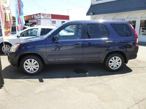 2006 Honda CR-V EX Carfax 1-Owner - No Accidents  Damage Reported to CARFAX  Royal Blue Pearl