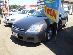 2007 Honda Accord Sdn EX-L Carfax Report Audio  Cd Player Locks  Power Door Locks Alabaster