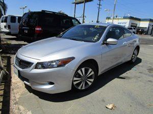 2008 Honda Accord Cpe EX-L Carfax Report  Alabaster Silver Metallic  It is the Customers respo
