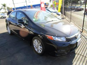 2012 Honda Civic Sdn EX Carfax 1-Owner  Crystal Black Pearl  It is the Customers responsibilit