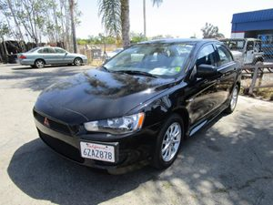 2013 Mitsubishi Lancer ES Carfax 1-Owner  Tarmac Black Pearl  It is the Customers responsibili