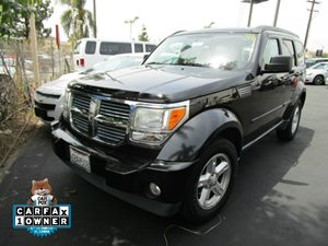 2008 Dodge Nitro SLT Carfax 1-Owner - No Accidents  Damage Reported to CARFAX  Brilliant Black