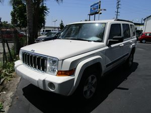 2008 Jeep Commander Sport Carfax Report 6 Cylinders Convenience  Adjustable Steering Wheel Con
