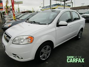 2011 Chevrolet Aveo LT w2LT Carfax Report - No Accidents  Damage Reported to CARFAX Air Conditi