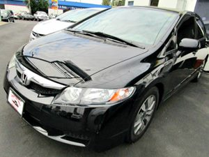 2009 Honda Civic Sdn EX Carfax Report 2-Tier Instrument Panel WBlue Backlit Gauges -Inc Tachome