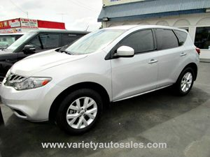 2011 Nissan Murano S Carfax 1-Owner 3 12-Volt Pwr Outlets 18 Aluminum Alloy Wheels WCenter