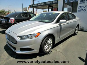 2013 Ford Fusion SE Carfax 1-Owner - No Accidents  Damage Reported to CARFAX 3 12V Pwr Points