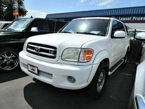 2004 Toyota Sequoia Limited Carfax Report - No Accidents  Damage Reported to CARFAX Rear Seat Au
