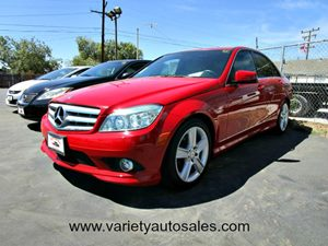 2010 MERCEDES C300 Sport Sedan Carfax Report 5 Central Controller Display WRetractable Cover