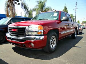 2005 GMC Sierra 1500 SLE Carfax Report Air Conditioning  AC Convenience  Leather Steering Whe