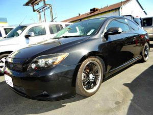 2008 Scion tC Spec Carfax Report - No Accidents  Damage Reported to CARFAX  Black Sand Pearl