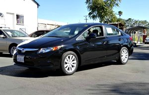 2012 Honda Civic Sdn EX Carfax 1-Owner - No Accidents  Damage Reported to CARFAX  Crystal Blac