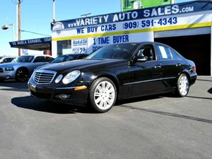 2008 MERCEDES E350 Luxury Sedan Carfax Report  Black  It is the Customers responsibility to ve