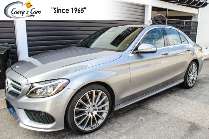 2015 Mercedes-Benz C 400 4MATIC Sedan