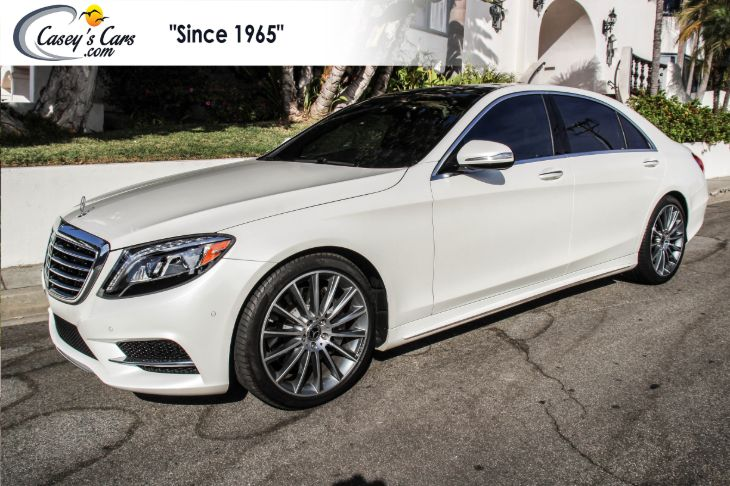 2015 Mercedes-Benz S 550e Plug-In Hybrid Sedan