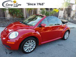 View 2010 Volkswagen New Beetle Convertible