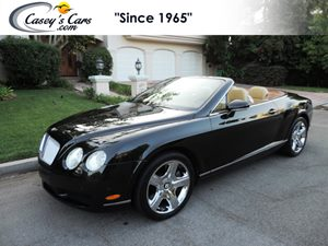 View 2007 Bentley Continental GT