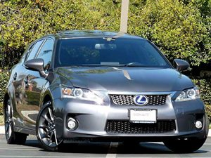 View 2012 Lexus CT 200h