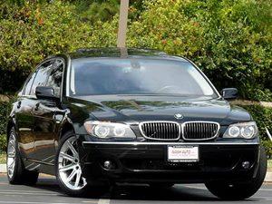 View 2008 BMW 7 Series