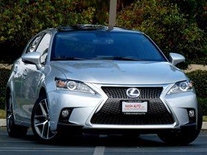 View 2015 Lexus CT 200h