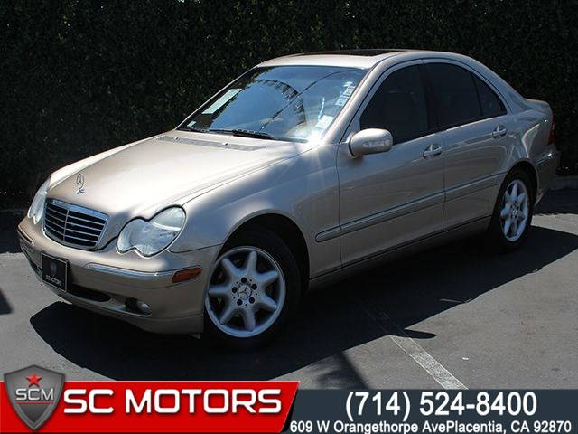 2004 Mercedes Benz C240 Sc Motors
