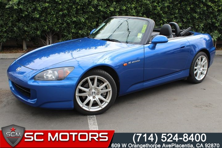 Sold 2007 Honda S2000 In Placentia