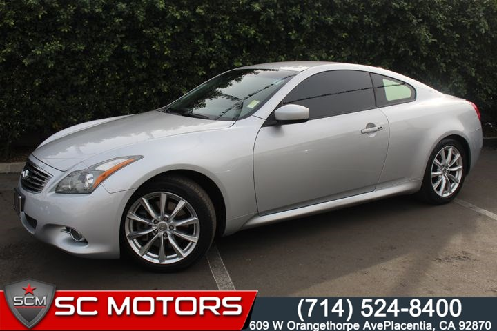 Sold 2011 Infiniti G37 Coupe In Placentia