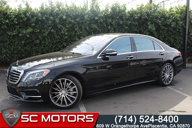 sold 2016 mercedes-benz s550 in placentia