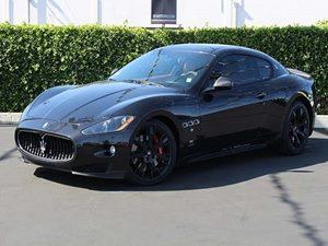 2009 Maserati GranTurismo S Carfax Report  Nero Carbonio Black  All advertised prices exclud