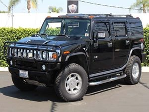 2007 HUMMER H2 SUV Carfax 1-Owner - No Accidents  Damage Reported to CARFAX  Black  All adver