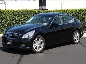 2013 Infiniti G37 Sedan Journey Carfax 1-Owner - No Accidents  Damage Reported to CARFAX  Malb