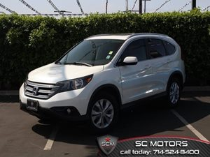2013 Honda CR-V EX-L Carfax 1-Owner  White Diamond Pearl  All advertised prices exclude govern