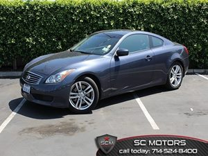 2010 Infiniti G37 Coupe Base Carfax Report - No Accidents  Damage Reported to CARFAX 18 Alumin