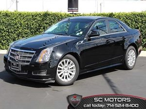 2011 Cadillac CTS Sedan  Carfax 1-Owner - No Accidents  Damage Reported to CARFAX Air Conditioni