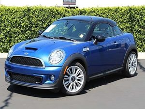 2012 MINI Cooper Coupe S Carfax 1-Owner - No Accidents  Damage Reported to CARFAX  Lightning B