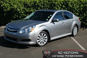 2011 Subaru Legacy 25i Ltd Pwr MoonNavigation Carfax 1-Owner 17 Alloy Wheels Air Conditionin