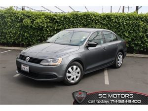 2012 Volkswagen Jetta Sedan S Carfax Report - No Accidents  Damage Reported to CARFAX Air Condit