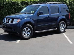 2006 Nissan Pathfinder SE Carfax Report  Majestic Blue Metallic  All advertised prices exclude